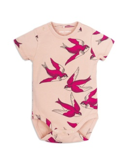 Swallows ss body Pink