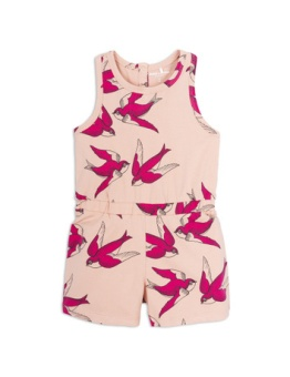 Swallows summersuit Pink
