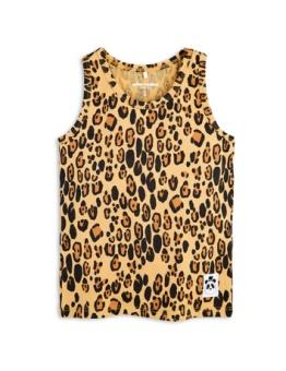 Basic leopard tank Beige