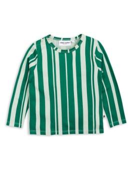 Odd stripe ls tee Green