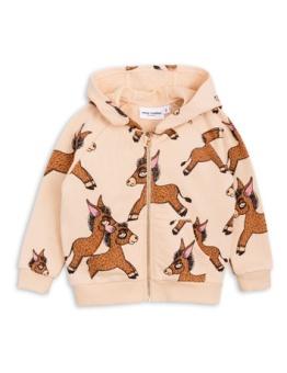 Donkey zip hoodie Beige
