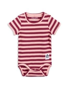 Stripe rib ss body Pink