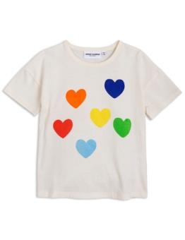 Rainbow love sp ss tee offwhite