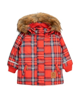K2 check parka Red