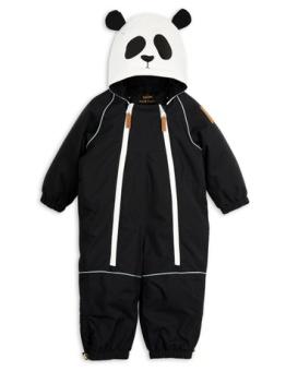 Alaska panda baby overall