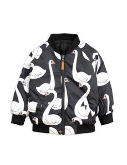Swan insulator jacket Black