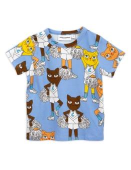 Cheercats ss tee blue