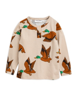 Ducks aop grandpa Beige