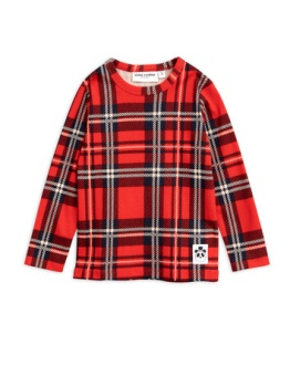 Check ls tee Red
