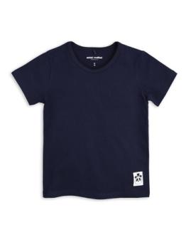 BASIC SS TEE/ navy
