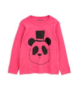 Panda sp wool ls tee Cerise