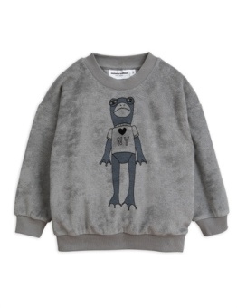 Frog Sp terry Sweatshirt grey