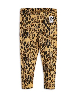 BASIC LEOPARD LEGGINGS / beige