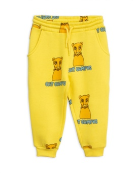 Cat Campus Sweatpants Yellow