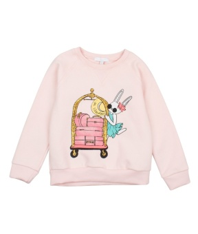 sweatshirt light pink/hotel cart