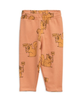 Squirrel Sweatpants beige