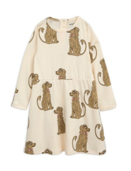 Spaniel LS dress beige