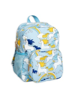Unicorn school bag Light Blue