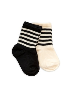 2-pack socks Black