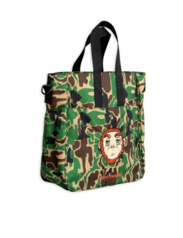 Camo gym bag green