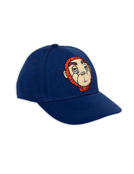 Monkey cap blue