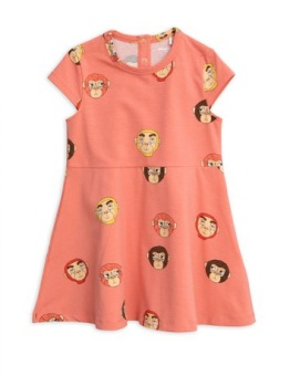 Monkeys aop ss dress