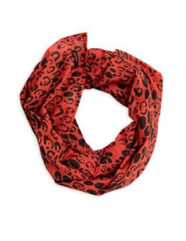Leopard scarf Limited	/ Red