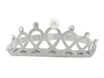 Hårband 'Krona' silver