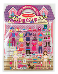 Puffy Stickers - Dress up