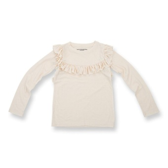 FRILL Jumper Off White