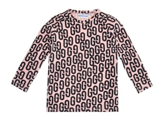 Long  Sleeved T Shirt  GG  Pink