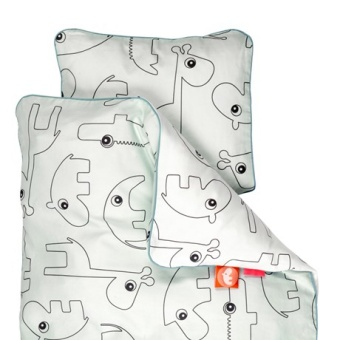 Bedlinen junior Contour, Blue