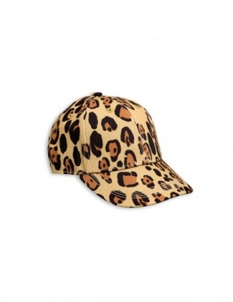 LEOPARD CAP Beige