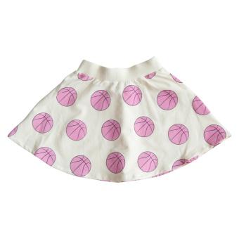 Skirt Basketball Cream White