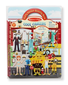 Stickers Activity book- cool careers
