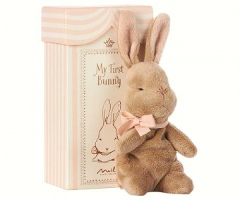 Maileg - My first Bunny in Box, Rosa