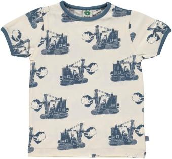 T-Shirt med Grävskopa