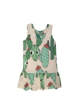 Cactus Dress Green
