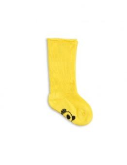 PANDA BABY SOCK Yellow