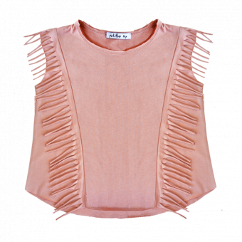 Kara Top Warm Pink