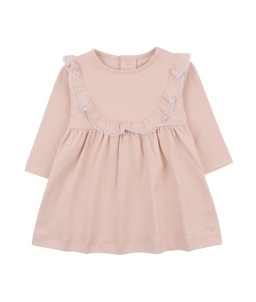 Elsa dress mauve rose