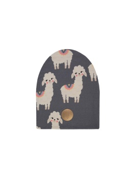 Lama Beanie Grey