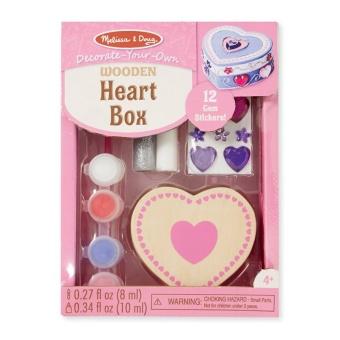 Måla din egen ask Hjärta