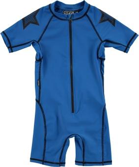 Neka Solid Swimsuit Deep Sea Blue