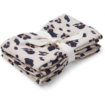 Muslinfilt Hannah Leo - 2 pack