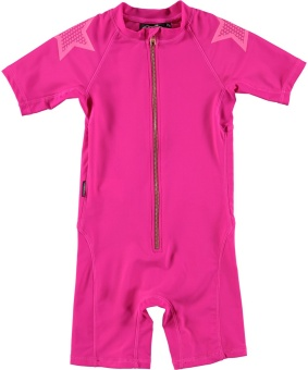 Neka Solid Swimsuit Knockout Pink