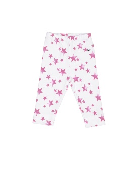 Leggings Neon Pink Stars