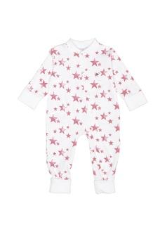 Overall Neon Pink Stars