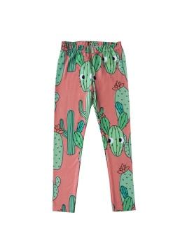 Cactus Leggings Pink