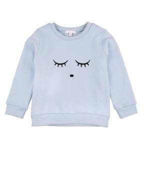Sweatshirt sleeping cutie/ice blue